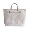 Brookly tote bag (Green stitch)
