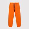 Ribbon Tape Point Basic Sweatpants (Orange)