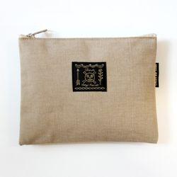 Canvas pouch L 02