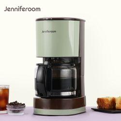 제니퍼룸 컴팩트 드립 커피메이커 JR-G7660OV 올리브