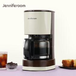 제니퍼룸 컴팩트 드립 커피메이커 JR-G7660BG 베이지