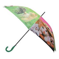 나만없어 고양이 그린핑크 (자동우산)