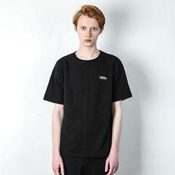 PEPPER LOGO T-SHIRT [BLACK]