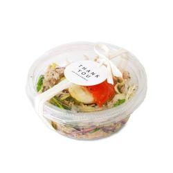 투명 샐러드 락 케이스 소 (2개)