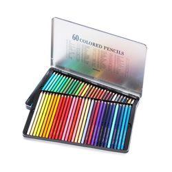 문화연필 넥스프로 60색연필 (틴케이스)