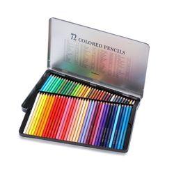 문화연필 넥스프로 72색연필 (틴케이스)