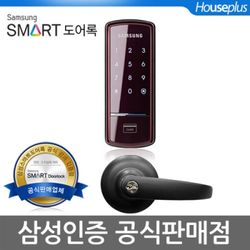 [셀프시공]삼성 SHS-1521P(도어록+블랙현관정+키4개)