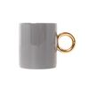 Gray Gold Mug