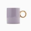 Light Purple Gold Mug