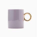 Light Purple Gold Mug