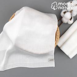 [맘스네이처] 100 대나무 엠보싱 손수건 10장