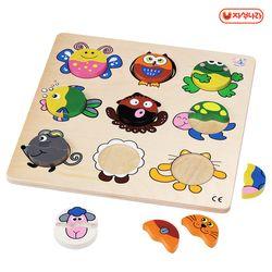 원목교구 동물퍼즐