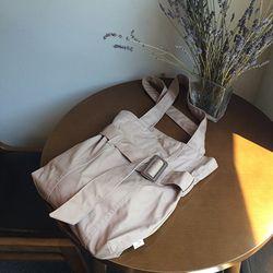 neat.A Belt Eco Bag .Brown-니트에이 벨트에코백