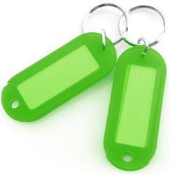 아트사인 칼라 키홀더 열쇠고리 초록색 2개입 K0014