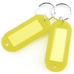 아트사인 칼라 키홀더 열쇠고리 노랑색 2개입 K0013