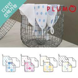 뱀부 머슬린 아기수건 3p 모음전-디자인선택