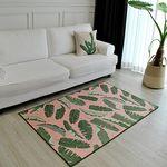 썸머 트로피컬 핑크 러그 (100x150cm)
