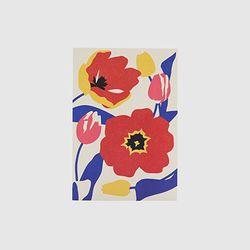 Post card - Illustration (Tulip)