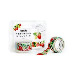 반데 딸기 마스킹테이프 BDA220
