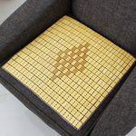 대나무로 만든 시원한 쿨방석 마작방석45x45cm