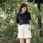 No Armhole Tee - Black