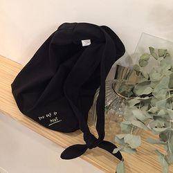 neat.A Kont Eco Bag . Black-니트에이 매듭에코백