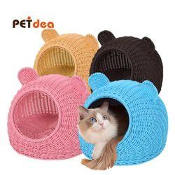 펫디아 라탄 고양이 하우스(L)