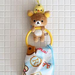 (일본) 리락쿠마 인형 수건걸이