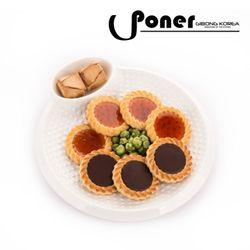 [포너] 도트 엠보 분할접시 원형 C0332PNOM PONER