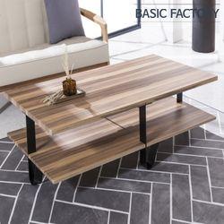 델피아 스틸 1200 거실 테이블