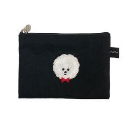 gentle bichon card pouch