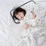 코니테일 퓨어 거즈블랭킷 - 헬로덕 (여름아기이불)