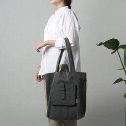 [The Zero] P.1 eco bag (city gray)