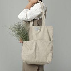 [The Zero] P.2 eco bag (calm Ivory)