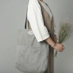 [The Zero] P.2 eco bag (gentle gray)