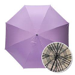 인사이드체크 퍼플 자동장우산 UV차단 양우산