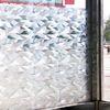 무점착창문시트지 얼음조각나라 (HSW-32112)