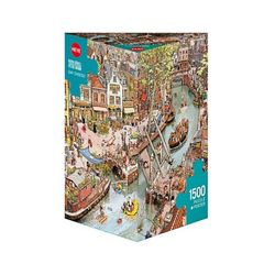 1500조각 직소퍼즐 - 분주한 도시 (HE29793)