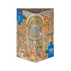 1500조각 직소퍼즐 - 박제품 박물관 (HE29794)