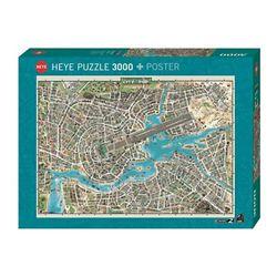 3000조각 직소퍼즐 - 음악으로 만드는 지도 (HE29759)