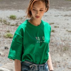 Yolo T-Shirts Green (SA20600117B)