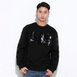슈퍼크록액션 일루션 스웨트셔츠 블랙