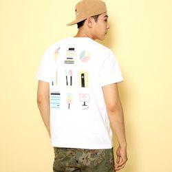 슈퍼크록 A++ 티셔츠 화이트