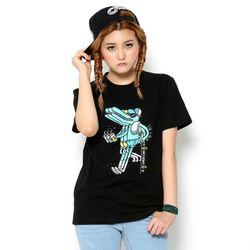 슈퍼크록 트리플렛 티셔츠 블랙