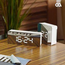 오아 미러클 무소음 거울 디지털 LED시계 OA-ET120