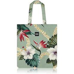 Layla Hawaiian Flat Tote Bag (Lark Green)