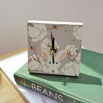 오잉 나무시계 - 목화꽃