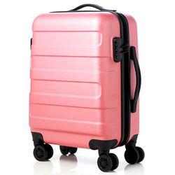 런던 캐리어 20인치 핑크 기내용