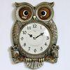 (kspz174)저소음 체리부엉이 시계 대 골드