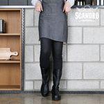 [스캔드로 남녀 미들부츠] SCDR207-1 주방화조리화